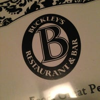 Photo taken at Buckley's Restaurant & Bar by Michelle D. on 2/17/2013