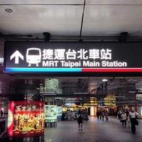 Photo taken at MRT Taipei Main Station by Hugh W. on 11/4/2013