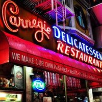 Photo taken at Carnegie Deli by Zach L. on 5/28/2013