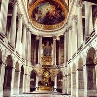 Photo taken at Palace of Versailles by Zach L. on 4/27/2013