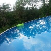 Photo taken at swimming pool by Lauren W. on 5/30/2013