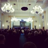 Photo taken at Aula Kryształowa by Lukasz Z. on 1/10/2013