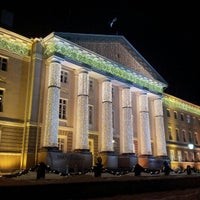 Photo taken at University of Tartu main building by Talvi Wasp G. on 11/30/2012