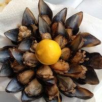 Photo taken at Karina Balık Restaurant by Nigar M. on 4/23/2013