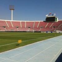 Photo taken at Estadio Nacional Julio Martínez Prádanos by Patricio D. on 3/26/2013