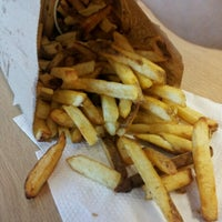 Photo taken at Five Guys by Monkey M. on 9/14/2012