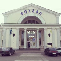 Photo taken at Poltava-Kyivska Railway Station by Dmitry B. on 7/20/2014