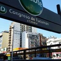 Foto tomada en Estación Congreso de Tucumán [Línea D] por Max H. el 12/1/2015