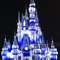 Photo taken at Cinderella Castle by Marcos Eugenio A. on 12/5/2012