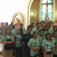 Photo taken at St. Catherine of Alexandria Church of Gerona by Louise T. on 4/5/2014