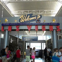 Photo taken at McCarran International Airport (LAS) by Robert D. on 7/18/2013