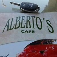 Photo taken at Alberto's Café by Jhonatan J. on 2/14/2013