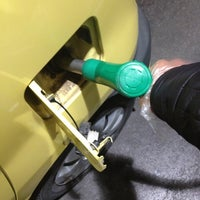 Photo taken at Gasolinera Carrefour Planet by Luis P. on 1/15/2013