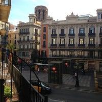Photo taken at Hostal Mare Nostrum Barcelona by Никита С. on 6/2/2013