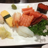 Photo taken at River Japanese Cuisine by Susana C. on 12/15/2012
