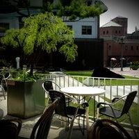 Photo taken at CAFÉ AMOKKA by Eunae P. on 5/25/2013