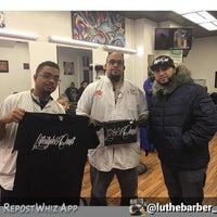 Photo taken at The Hustle Barbershop by CORONA BARBER SHOP PLUS C. on 2/9/2016