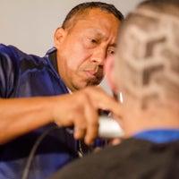 Photo taken at The Hustle Barbershop by CORONA BARBER SHOP PLUS C. on 12/9/2015