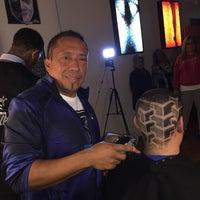 Photo taken at The Hustle Barbershop by CORONA BARBER SHOP PLUS C. on 12/7/2015