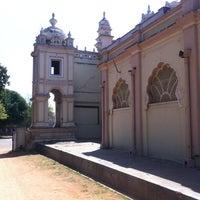 Photo taken at Jagan Mohana Palace by Shaxna on 2/27/2013