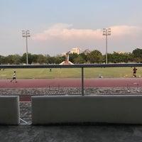 Photo taken at Main Stadium by Lunaruna W. on 2/23/2017