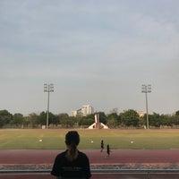 Photo taken at Main Stadium by Lunaruna W. on 3/22/2017