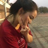 Photo taken at Main Stadium by Lunaruna W. on 3/15/2017