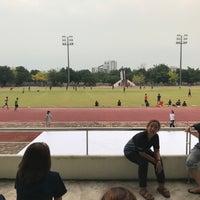 Photo taken at Main Stadium by Lunaruna W. on 4/26/2017