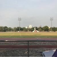 Photo taken at Main Stadium by Lunaruna W. on 3/16/2017
