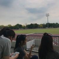 Photo taken at Main Stadium by Lunaruna W. on 4/19/2017