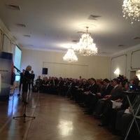 Photo taken at Centralni dom Vojske Srbije by Pavle B. on 12/14/2012