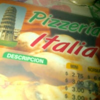 Photo taken at Pizzería Italia by Max R. on 11/3/2012