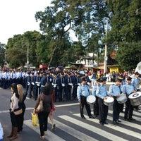 Photo taken at Desfile Estudiantil. Fernando de la Mora by Emilio C. on 6/12/2015