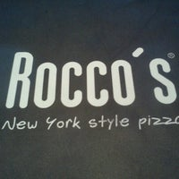 Photo taken at Rocco's Pizza by Marcos J. on 10/24/2012
