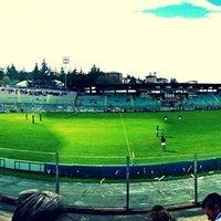Photo taken at Stadio Tommaso Fattori by Maurizio M. on 8/28/2013