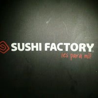 Photo taken at Sushi Factory by Erick H. on 9/14/2012
