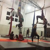 Photo taken at Grupo Aerius - Circo e Aventura by Paulinha on 2/20/2013