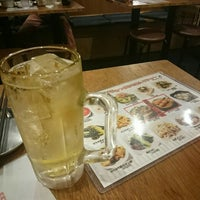 Photo taken at 串かつ でんがな 本厚木ミロードイースト店 by Y CkM A. on 10/28/2015