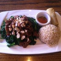 Photo taken at Wild Ginger Pan-Asian Vegan Cafe by Alex S. on 10/10/2012