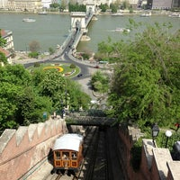 Photo taken at Buda Castle Hill Funicular by Alex S. on 4/29/2013