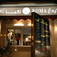 Photo taken at Roma Cafe by Mohammed A. on 5/10/2013