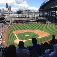 Foto tirada no(a) Safeco Field por Jeff G. em 7/11/2013