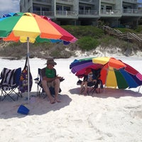 Photo taken at Seagrove Beach by Bonnie S. on 5/17/2013