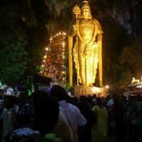 Photo taken at Sri Subramaniar Temple Batu Caves by Saysha T. on 1/27/2013