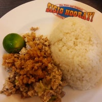 Photo taken at Sisig Hooray! by anne p. on 7/8/2014