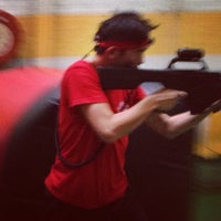 Photo taken at Tech Assault Laser Skirmish Northcote by Lee W. on 1/26/2013