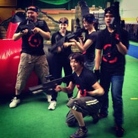 Photo taken at Tech Assault Laser Skirmish Northcote by Lee W. on 12/16/2012