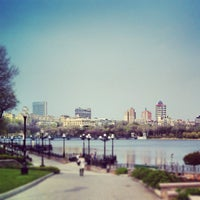 Photo taken at Парк Щербакова by Евгений С. on 4/25/2013