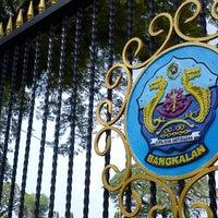 Photo taken at Alun-alun Bangkalan by Fis I. on 5/9/2013