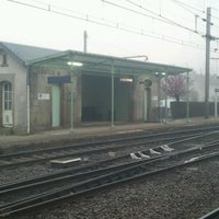 Photo taken at Gare SNCF de La Souterraine by William B. on 11/19/2012